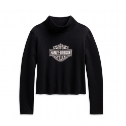 PULLOVER LOGO TURTLENECK