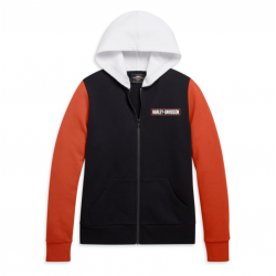 SWEAT COLORBLOCK ZIP