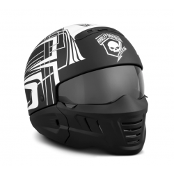 CASQUE SKULL LIGHTING 2 EN 1