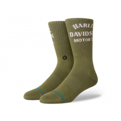 CHAUSSETTES HD MOTOR OLIVE