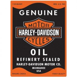 PLAQUE HD OIL CAN RECTANGLE...